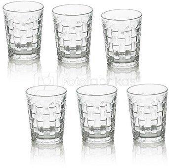 Stiklinės 6 vnt. HR17720 7x8,5 cm SAVEX