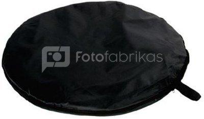 StudioKing Background Board White/Black 240x240 cm