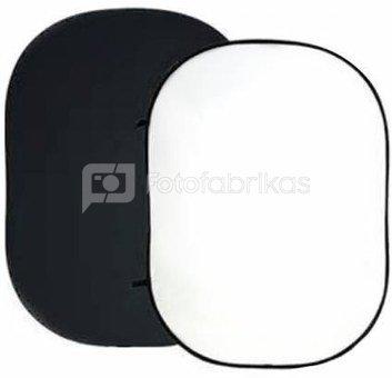 Sulankstomas fonas Visico 150 x 200 cm Black + White
