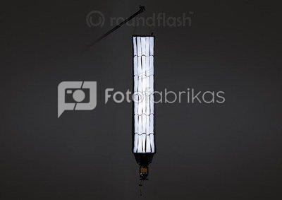 Šviesdėžė RoundFlash Strip Light 90x16 cm