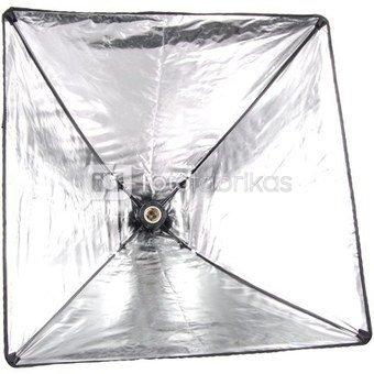 Šviesdėžė-skėtis 50x50 cm su E27 cokoliu