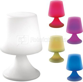 Šviestuvas su įkraunama led lempa, spalvos ketimo galimybė 16x25 cm O1393