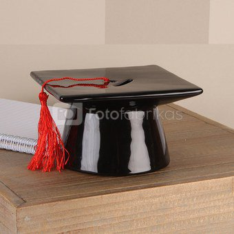 Taupyklė Mokslų baigimo kepurės formos keramikinė H:7 W:13 D:13 cm 69202