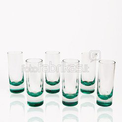 Taurelės stiklinės 6 vnt. YM539 NK