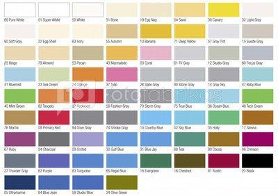 Tetenal (Laukinis) fonas Pattern/Design chart