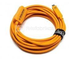 TetherBoost 5m kabelis pro USB-C Core Controller Extension Orange TBPRO3