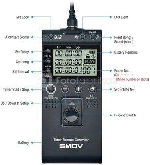 SMDV Timer Remote Controller T 805 Canon  Fuji Samsung