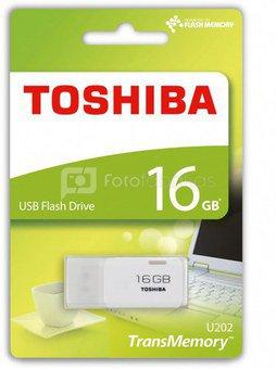 Toshiba USB 2.0 16GB hayabusa white