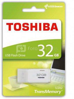 Toshiba USB 2.0 32GB hayabusa white