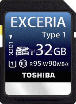 Toshiba SDHC 32GB Class 10 Exceria UHS-I Type 1