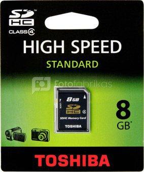 Toshiba SDHC 8GB Class 4 High Speed Standard
