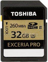 Toshiba SDHC Card Class 10 32GB Exceria PRO UHS II U3