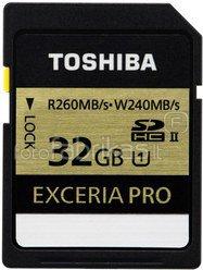 Toshiba SDHC Card Class 10 32GB Exceria UHS II