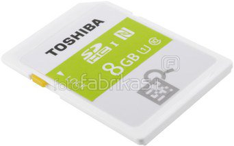 Toshiba SDHC Card Class 10 8GB High Speed Prof UHS I NFC