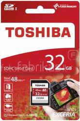 Toshiba SDHC Karte Class 10 32GB Exceria R48 UHS I