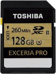 Toshiba SDXC Class 10 128GB Exceria Pro UHS II U3