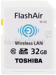 Toshiba Wireless SDHC 32GB Flash Air Class 10