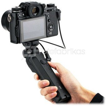 JJC TP FJ1 Shooting Grip with Wireless Remote (replaces Fuji RR 100 remote release)