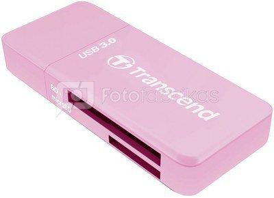 Transcend Card Reader RDF5R SD HC/XC microSDHC/XC UHS I USB 3.0