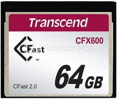 Transcend CFast 2.0 CFX600 64GB