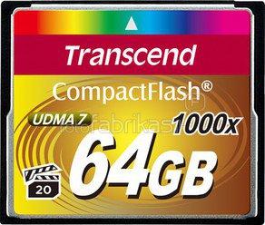 Transcend Compact Flash 64GB 1000x