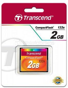 Transcend Compact Flash 2GB 133x