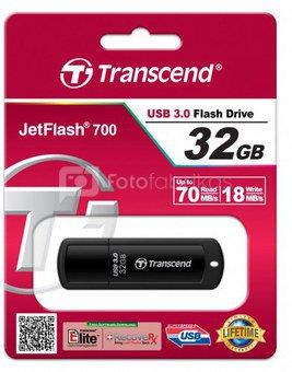 Transcend JetFlash 700 32GB USB 3.0 flash laikmena