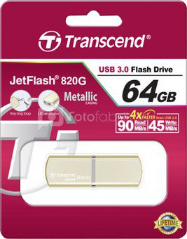 Transcend JetFlash 820G 64GB USB 3.0