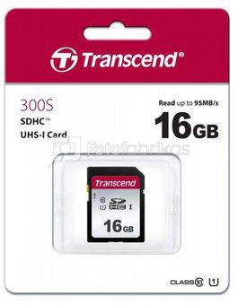TRANSCEND 16GB UHS-I U1 SILVER SD