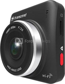 Transcend Onboard Camera DrivePro 200 vaizdo registratorius + microSDHC 16GB atminties kortelė