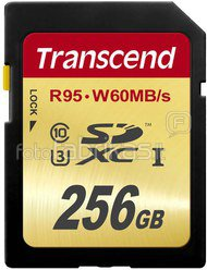 Transcend SDXC 256GB Class10 UHS-I U3 Ultimate