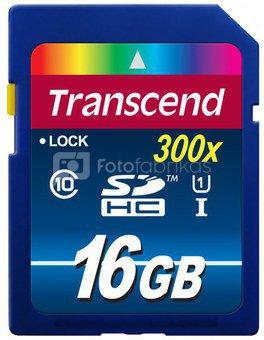 Transcend SDHC 16GB Class 10 UHS-I 400x Premium