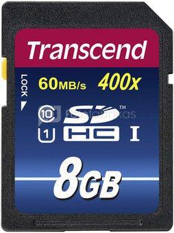Transcend SDHC 8GB Class 10 UHS-I 400x Premium