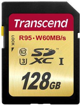 Transcend SDXC 128GB Class10 UHS-I U3 Ultimate