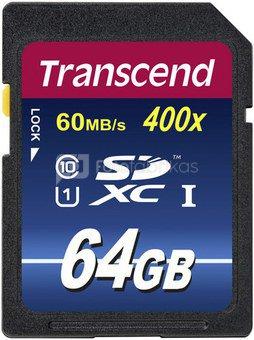 Transcend SDXC 64GB Class 10 UHS-I 400x Premium