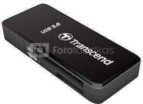 Transcend Card Reader RDF5K SD HC/XC microSDHC/XC UHS I USB 3.0