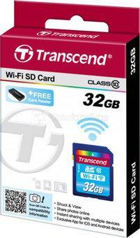 Transcend Wi-Fi SD Card 32GB Class 10 / SDHC