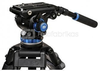 Trikojis Benro A573TB + galva S-6 PRO
