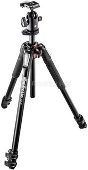 Manfrotto 055 Alu 3 Segments Tripod Kit MK055XPRO3-BHQ2