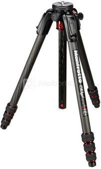 Manfrotto 190 Go! Carbon with Twist Lock black