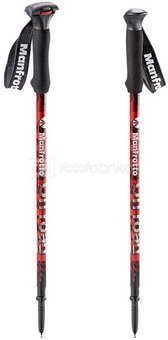 Manfrotto Off road Walking Sticks red incl. Monopod