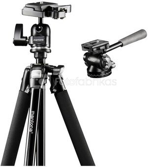 mantona Scout Tripod Max incl. panorama head Pan 360