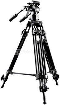 walimex pro EI-9901 Video-Pro- Tripod, 138cm
