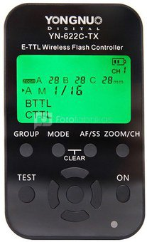 TTL radijo siųstuvas/imtuvas Yongnuo YN-622C-TX