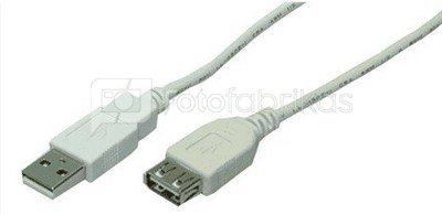 USB 2.0 bulk cable A Type Male -A Type Female,3m