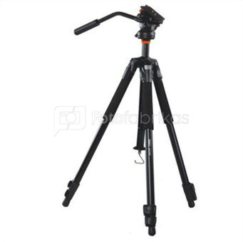 Vanguard ABEO 243AV Aluminium Tripod + Head PH-113V / Legs adjust to 25, 50 and 80-degree angles / Thick foam grips / Anti-spin central column