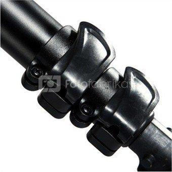 Vanguard ABEO PLUS 323AB Tripod Aluminium + Head BBH-200 / Legs adjust to 25, 50 and 80-degree angles / Smooth fluid-like ball head / max stability / Anti-spin center column / Anti-shock ring / Access