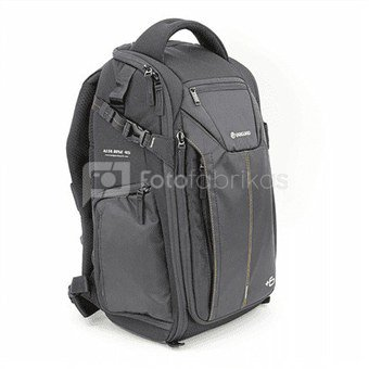 Vanguard Alta Rise 45 Black, Backpack, Dimensions (WxDxH) 320 x 230 x 490 mm, Interior dimensions (W x D x H) 260 x (130+60) x 250 mm, Rain cover