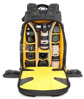 Vanguard Alta Sky 53 Grey, Backpack, Dimensions (WxDxH) 380 × 270 × 580 mm, Interior dimensions (W x D x H) 320×200×530 mm, Rain cover