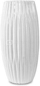 Vaza keramikinė balta 35x17x17 cm 101834 ddm